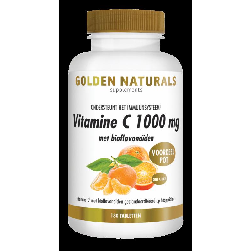 Vitamine C 1000 mg - met Bioflavonoïden
