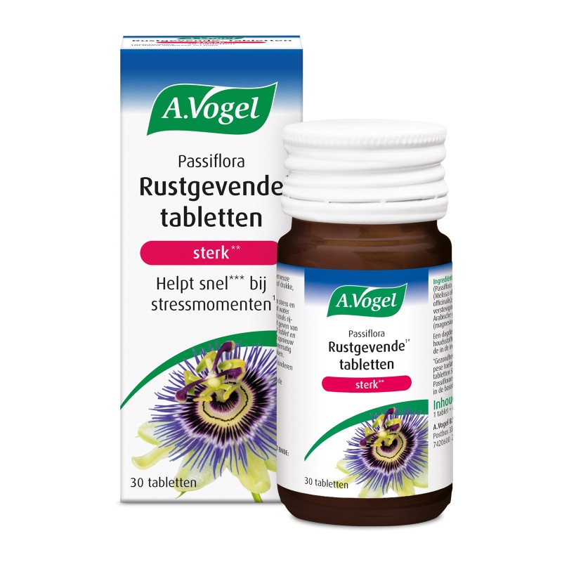 Passiflora Rustgevende Tabletten - Sterk
