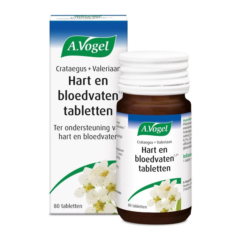 Crataegus + Valeriaan - Hart en bloedvaten tabletten