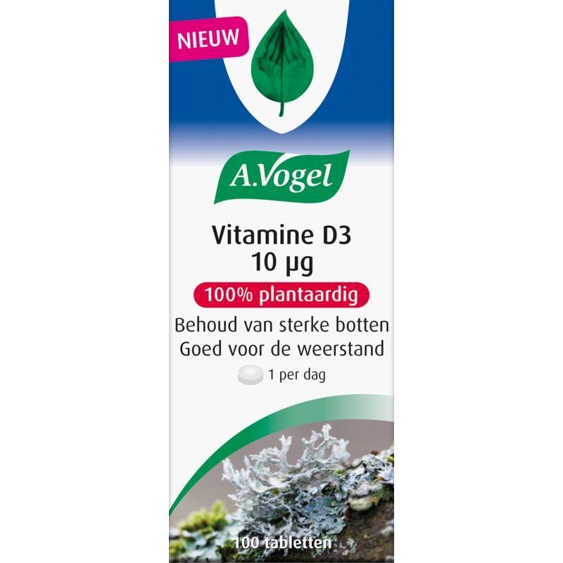 Vitamine D3, 10 mcg. (400 I.E.) - Planta...