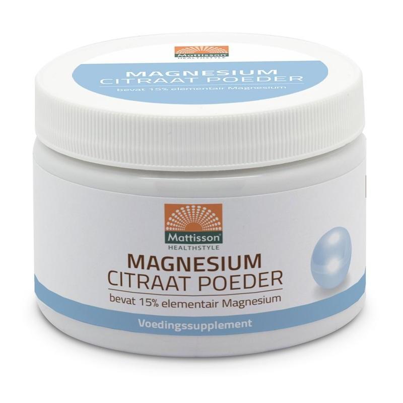 Magnesium Citraat - Poeder