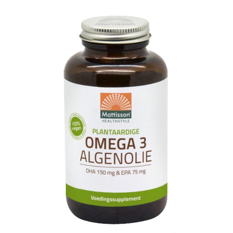 Omega-3 Algenolie DHA 150mg EPA 75mg