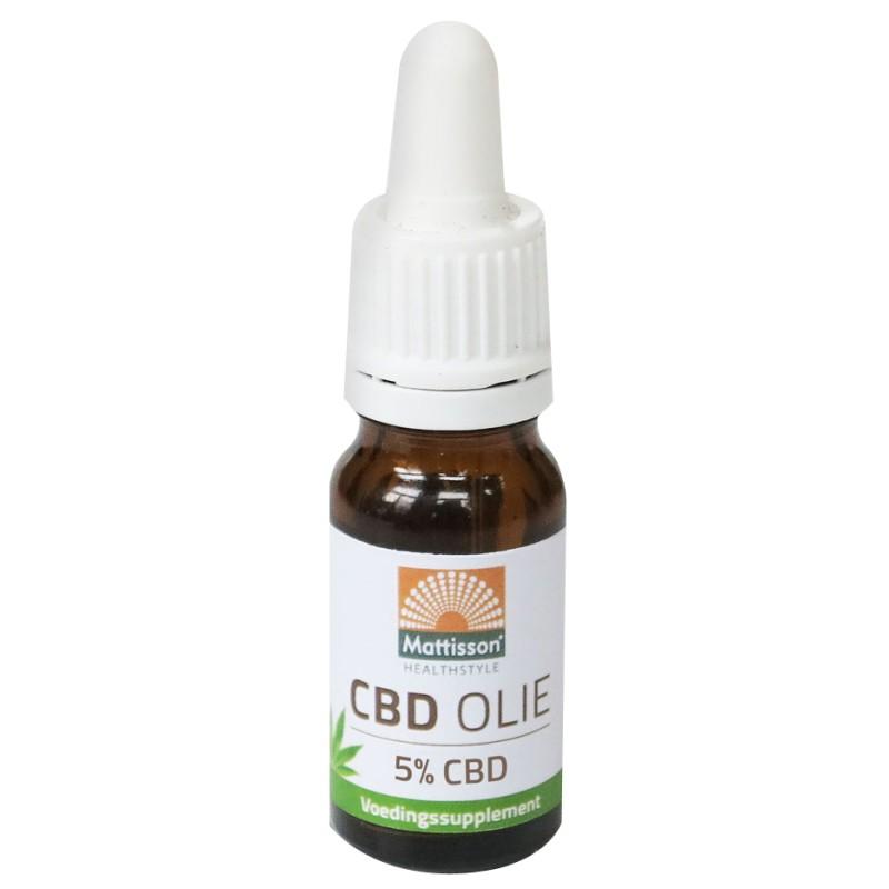CBD Olie - 5% CBD