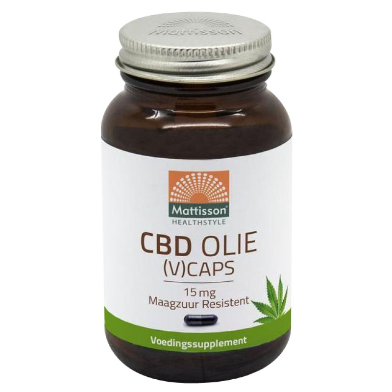 CBD Olie 15 mg - Maagzuur Resistent
