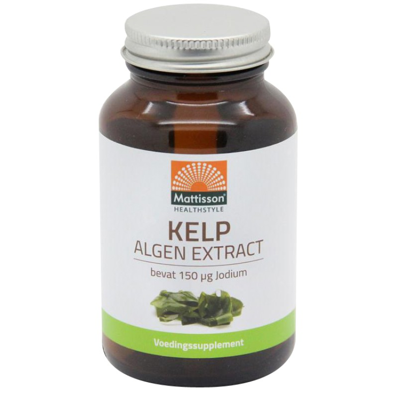 Kelp Algen Extract - 150mcg Jodium