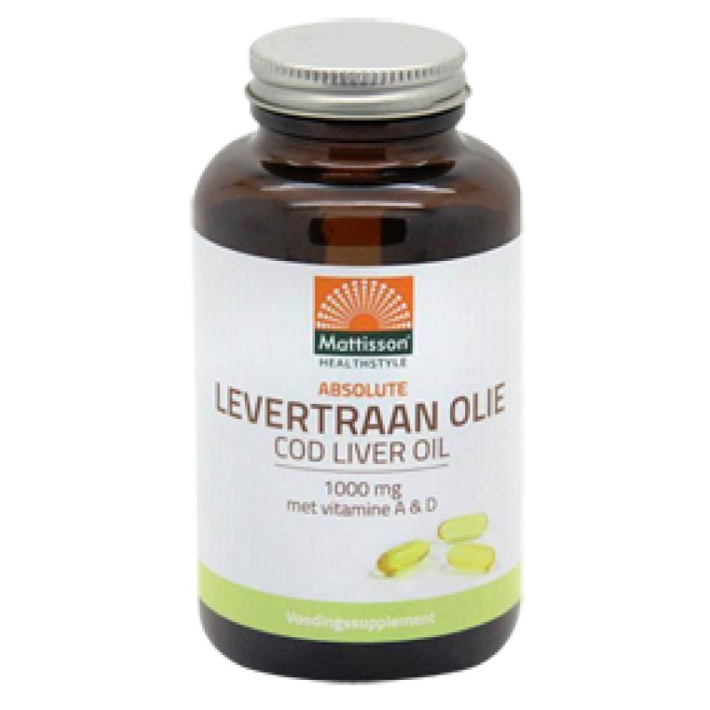 Levertraan Olie 1000mg - vit. A & D