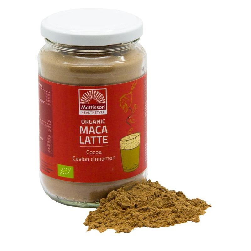 Maca Latte – Cacao & Ceylon kaneel...
