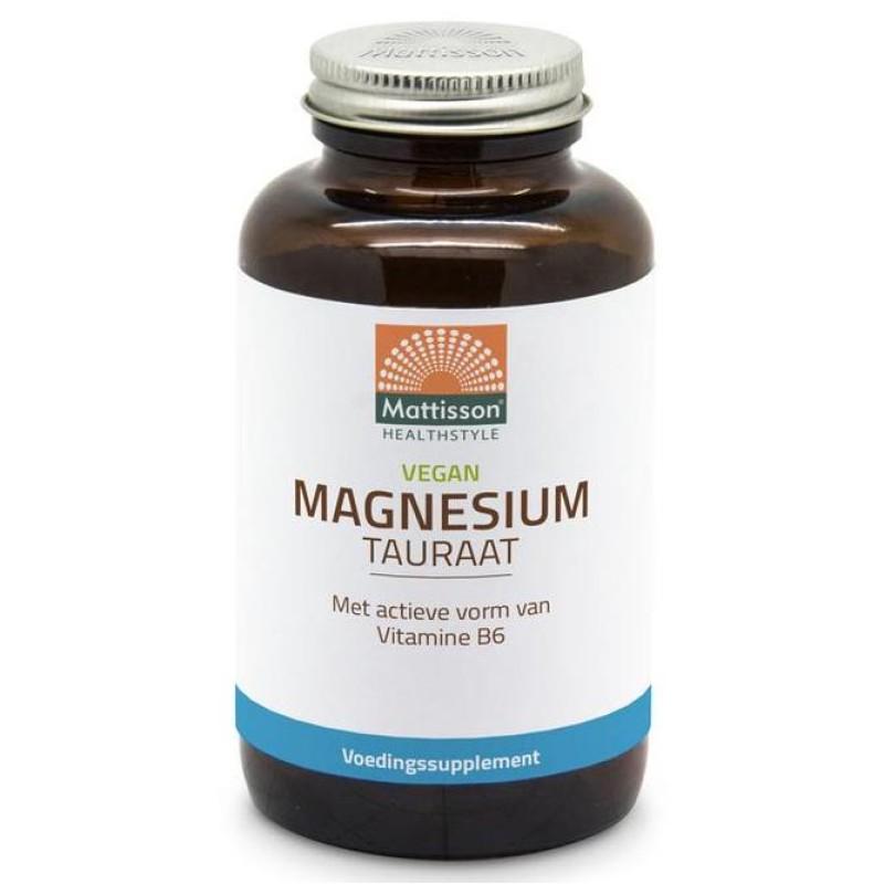 Magnesium Tauraat - Vegan