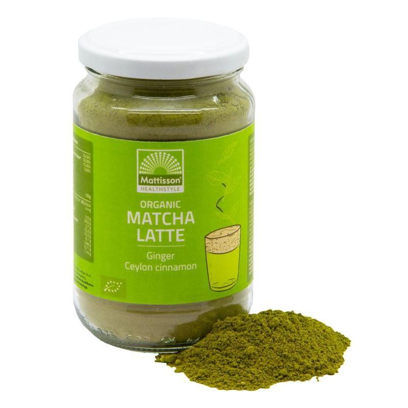 Matcha Latte – Gember Kaneel BIO