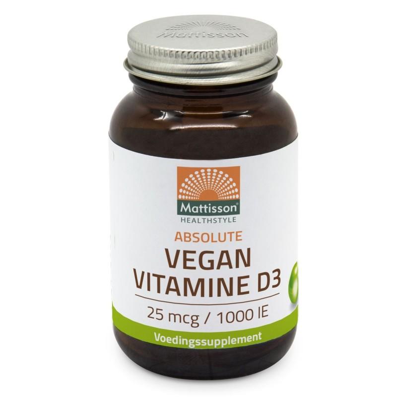 Vegan Vitamine D3 - 25mcg