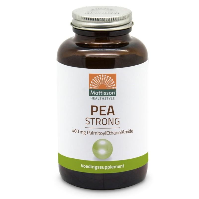PEA Strong 400 mg. - PalmitoylEthanolAmide