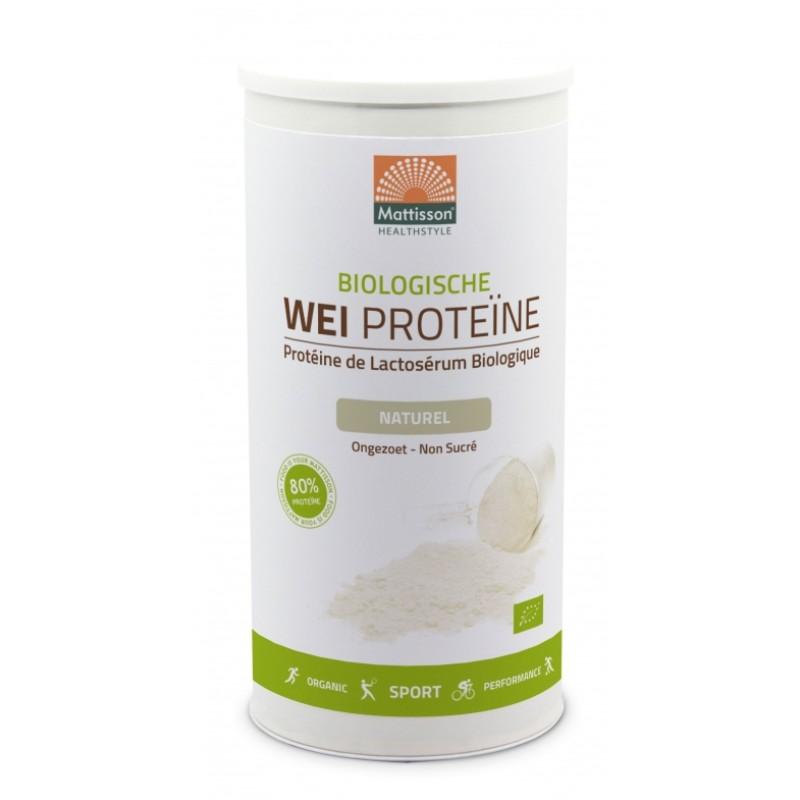 Weiproteïne 80% Naturel - BIO