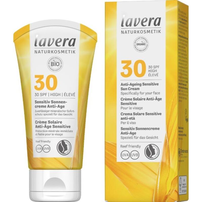 Sun Cream Anti-Ageing Sensitive SPF 30 -...