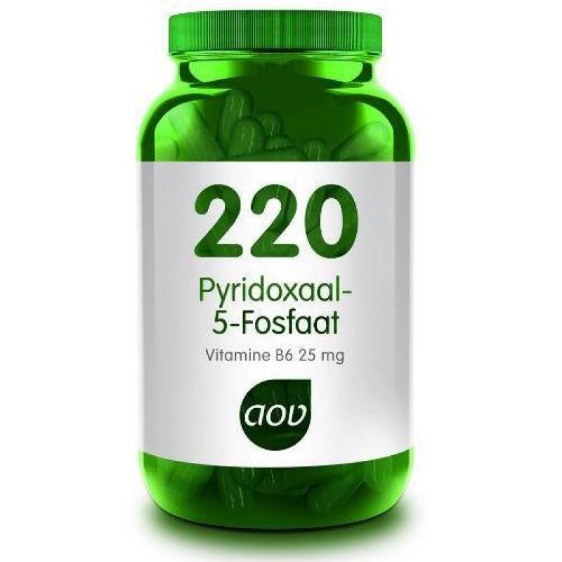 220 - Pyridoxaal-5-fosfaat/ P-5-P/ Vitamine B6