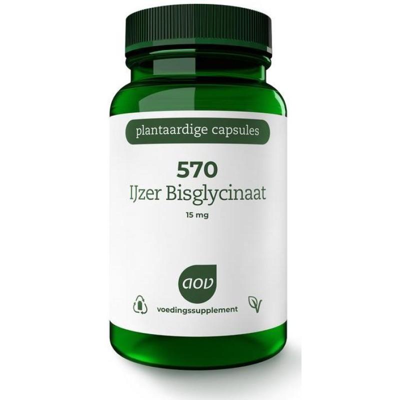 570 - IJzer Bisglycinaat 15 mg
