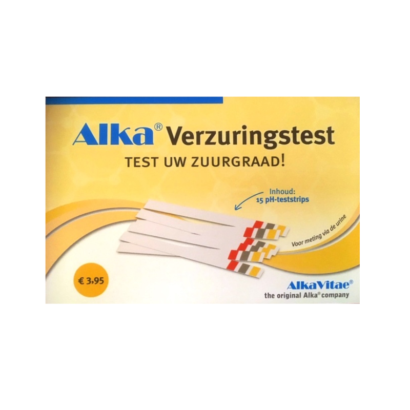Alka® Zuur-Base Strips - testen pH-waar...