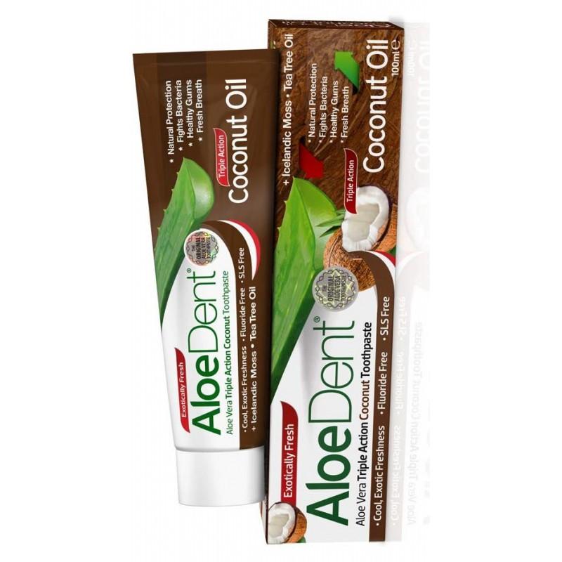 Aloë Vera Tandpasta Coconut Oil