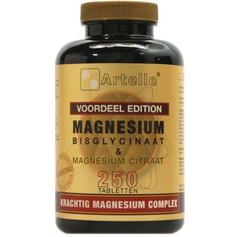 Magnesium Bisglycinaat & Magnesium C...