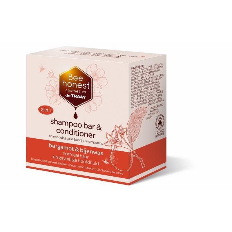 Shampoo Bar & Conditioner - Bergamot & Bijenwas