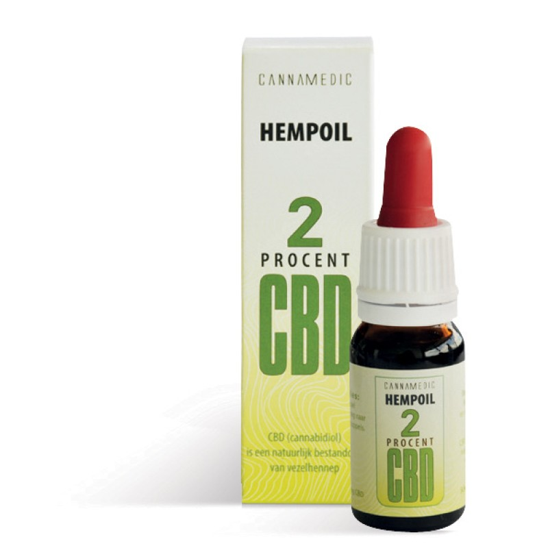 Cannamedic HEMP OIL 2% CBD