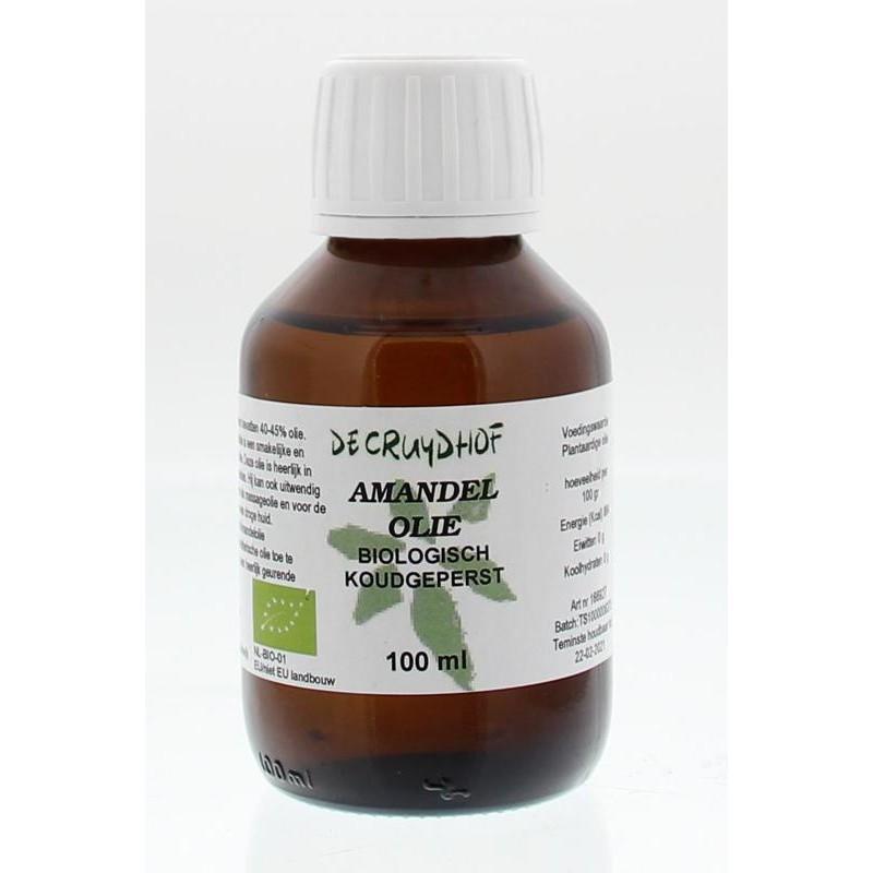 Amandelolie - biologisch en koudgeperst
