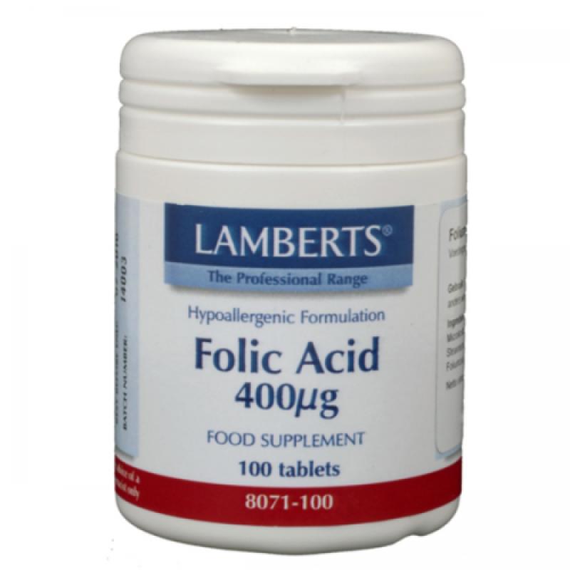 Foliumzuur 400 mcg - Vitamine B11