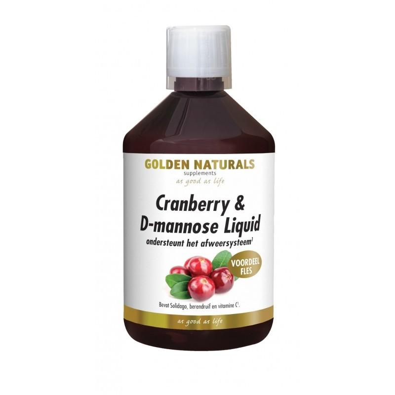 Cranberry & D-Mannose Liquid