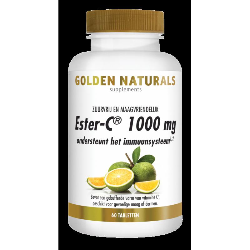 Ester-C 1000 mg. - Zuurvrij en Maagvriendelijk