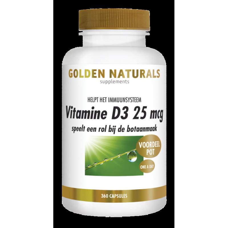 Vitamine D3 -25mcg / 1000 IE