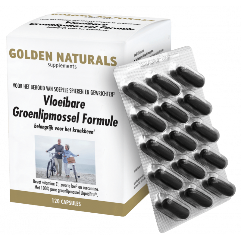 Vloeibare Groenlipmossel Formule