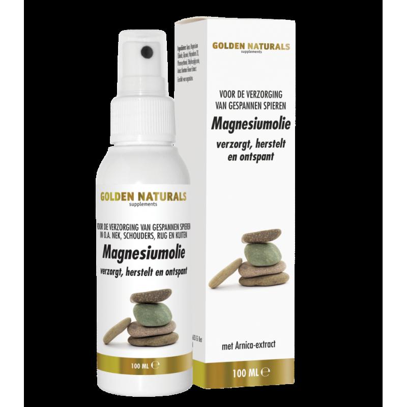 Magnesiumolie Spray - Golden Naturals