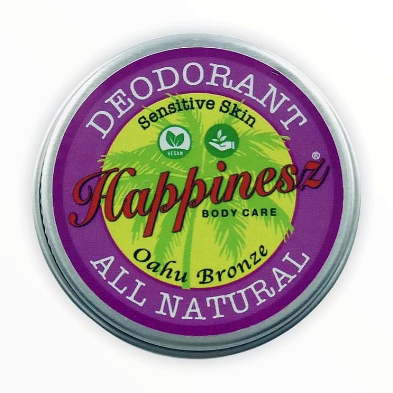 Oahu Bronze Natuurlijke Deodorant - Happinesz