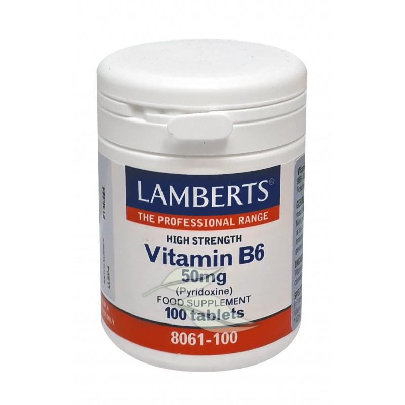 Vitamine B6 50 mg Pyridoxine
