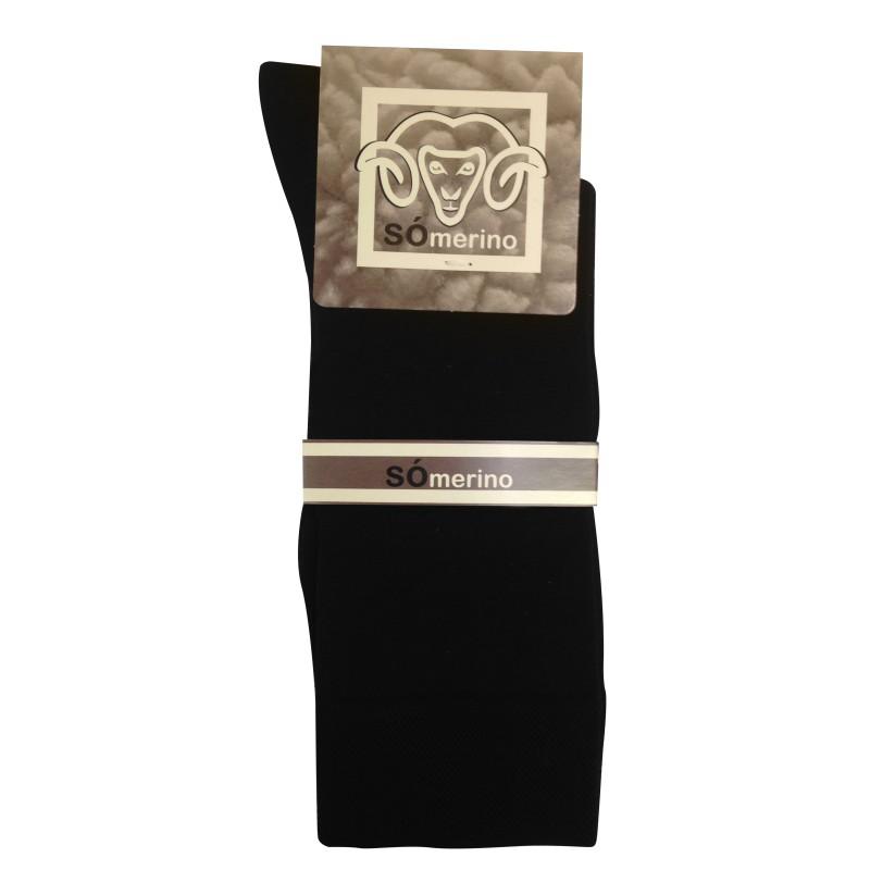 Merino Wol Sokken S15 SÓ - BLACK