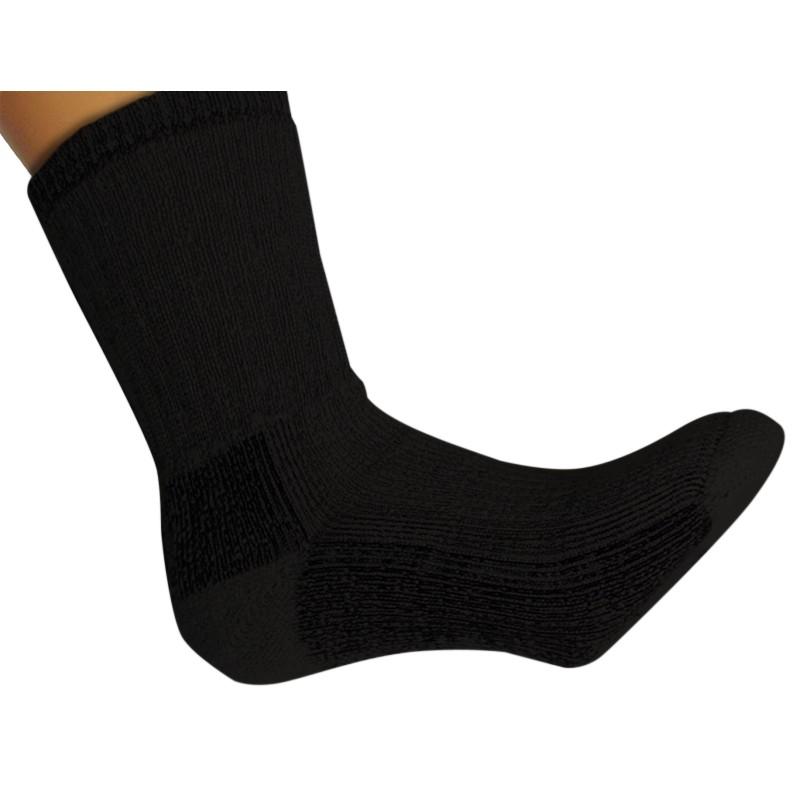 Merino Wol Sokken S5 Heavy - BLACK