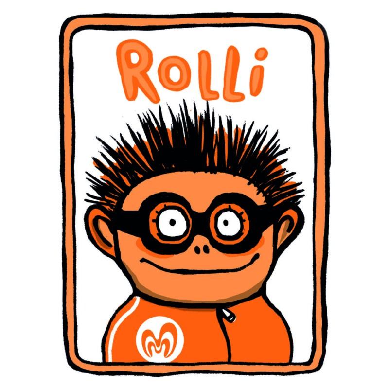 Kindertandenborstel Oranje - Minibi