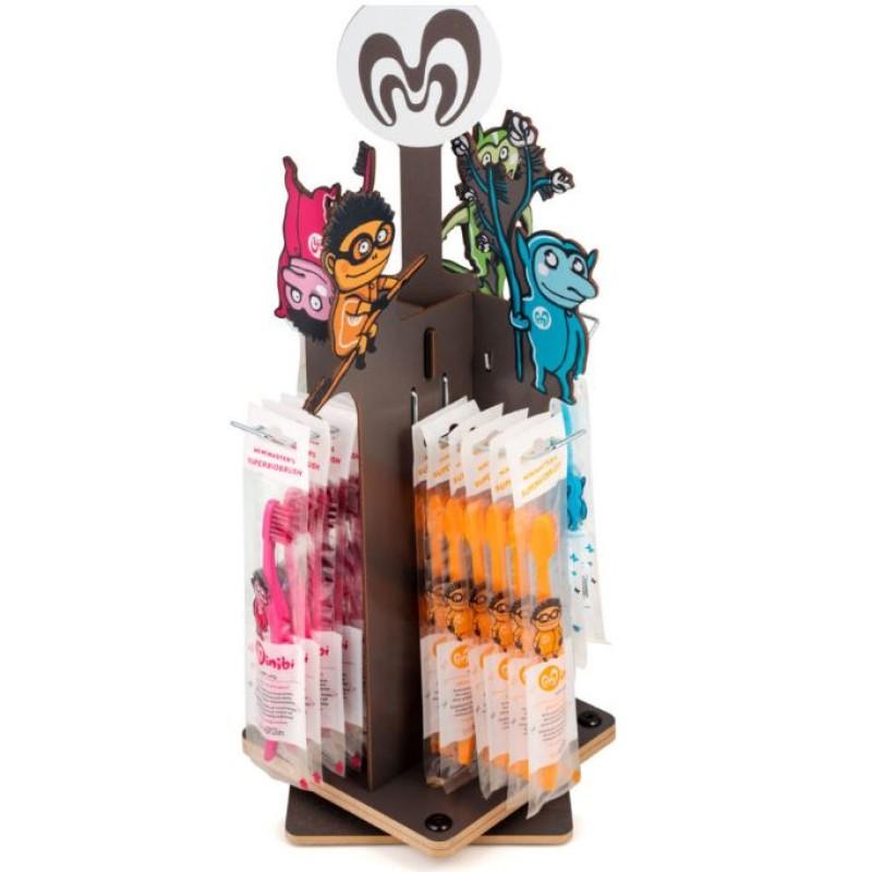 Kindertandenborstel Paars - Minibi