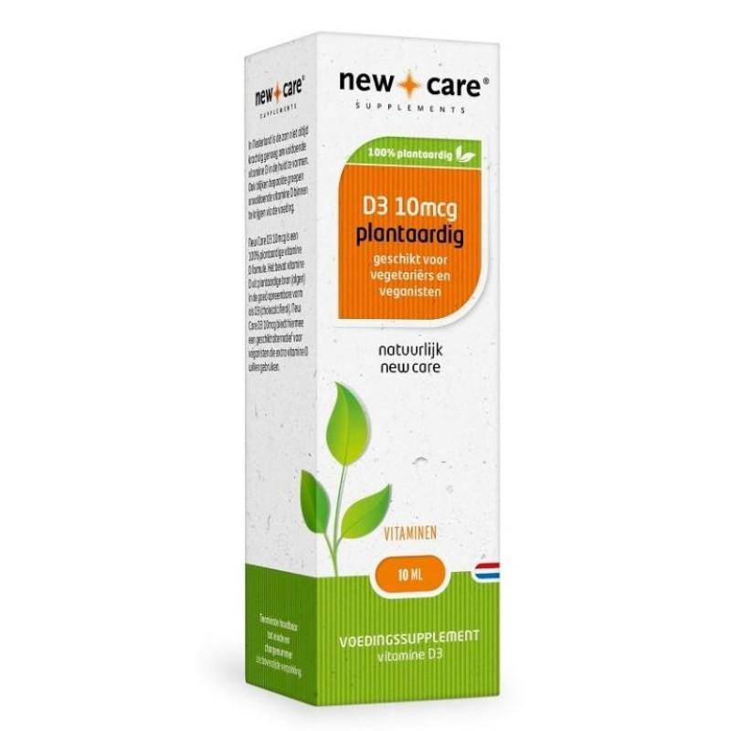 Vitamine D3, 10 mcg. (400 I.E.) - Plantaardig