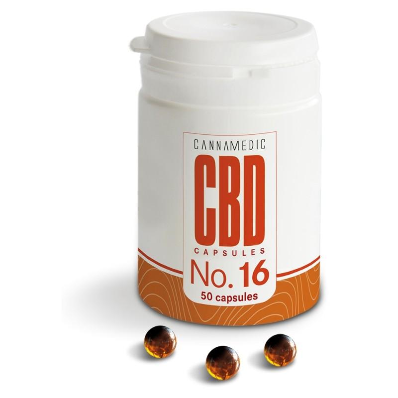 Cannamedic CBD Capsules No. 16