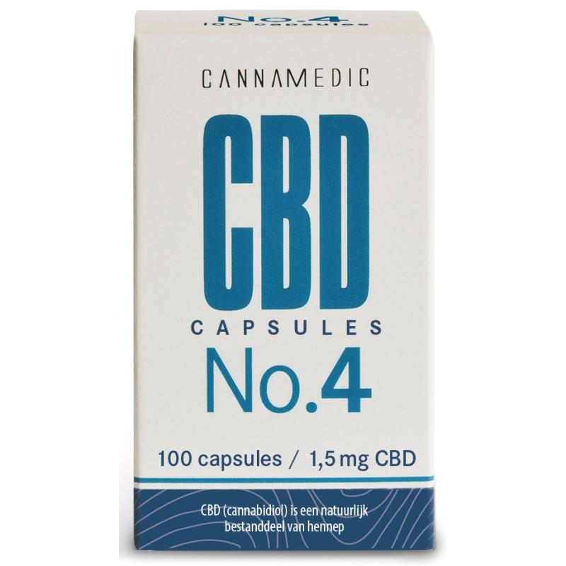 Cannamedic CBD Capsules No. 4
