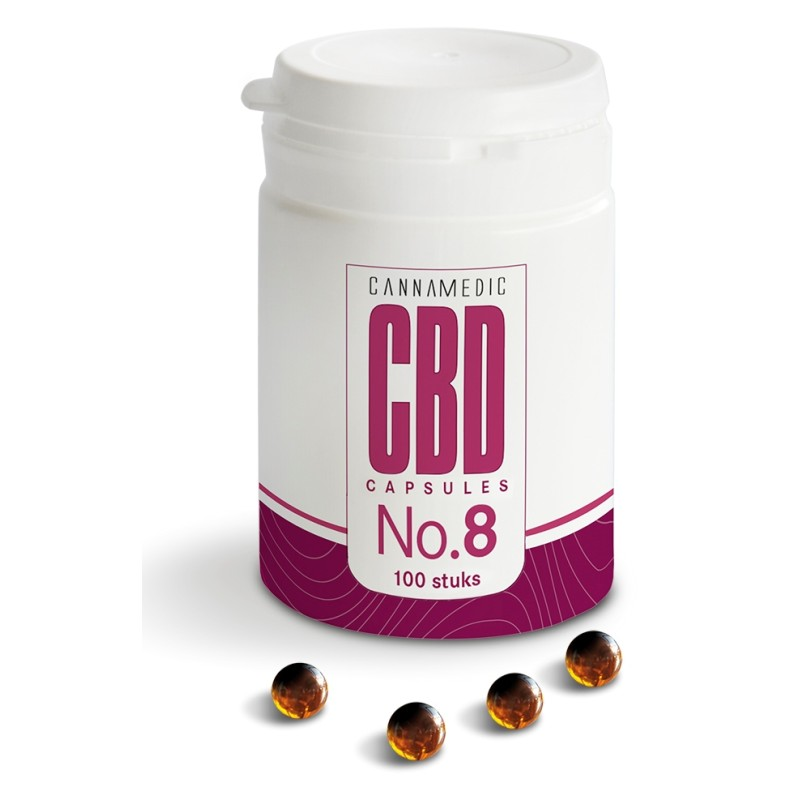 Cannamedic CBD Capsules No. 8