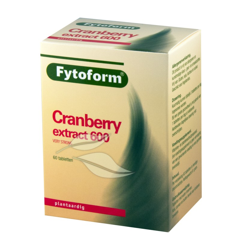 Cranberry Extract 600 Fytoform