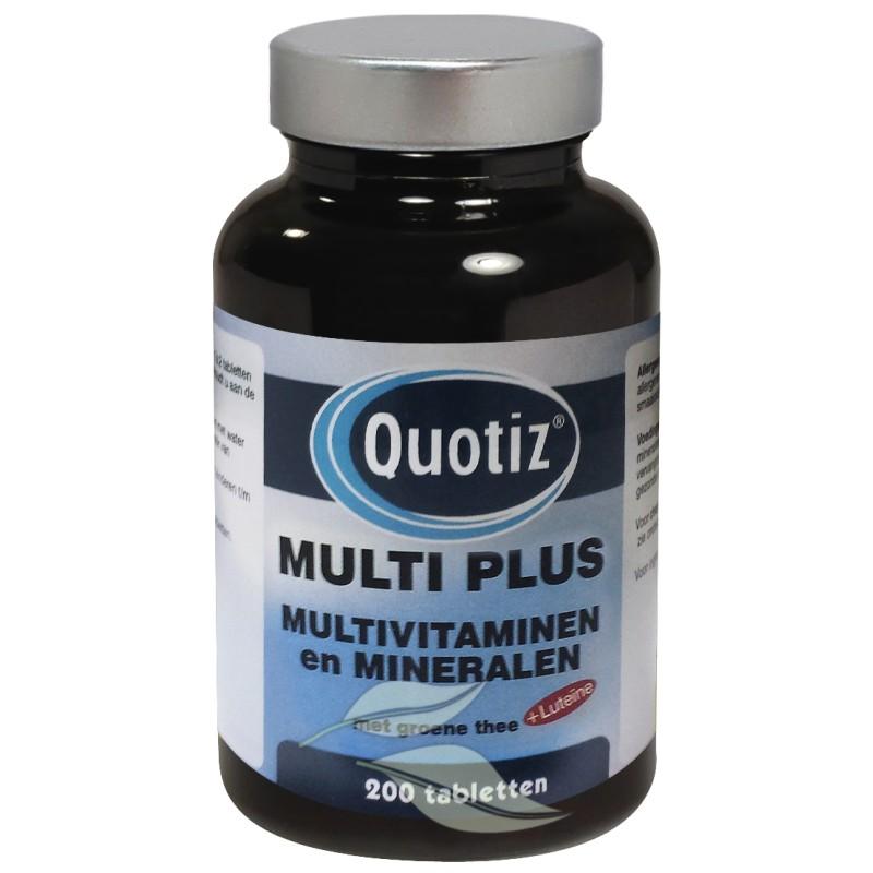 Multi Plus - Multivitaminen en Mineralen
