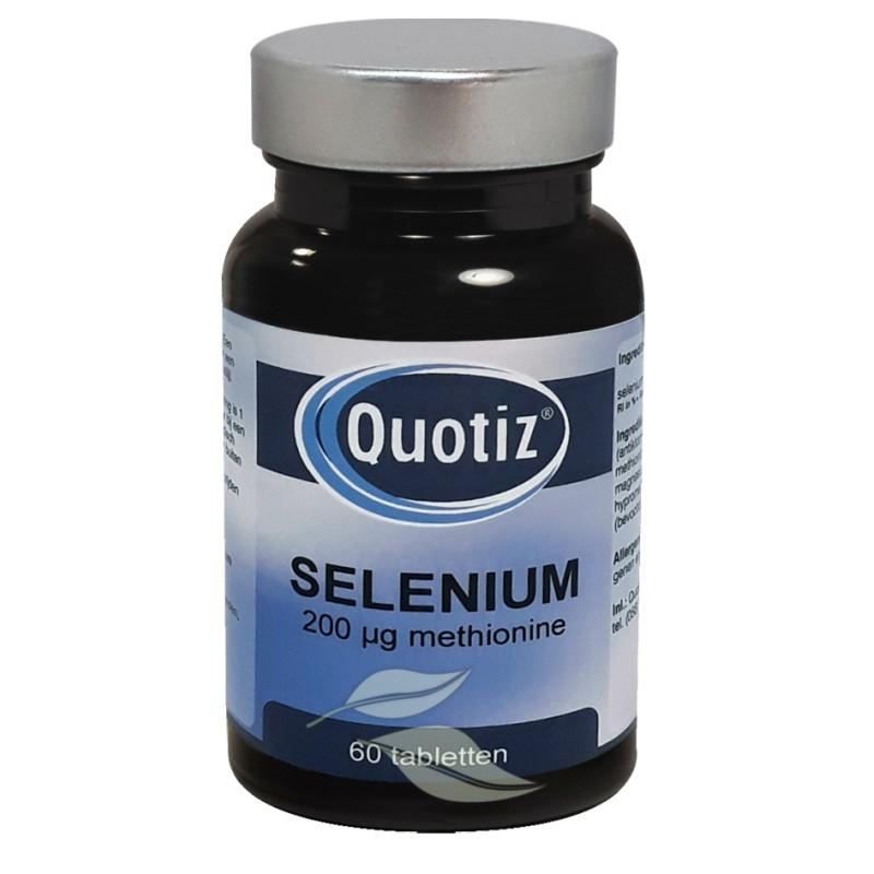 Selenium - 200 mcg methionine