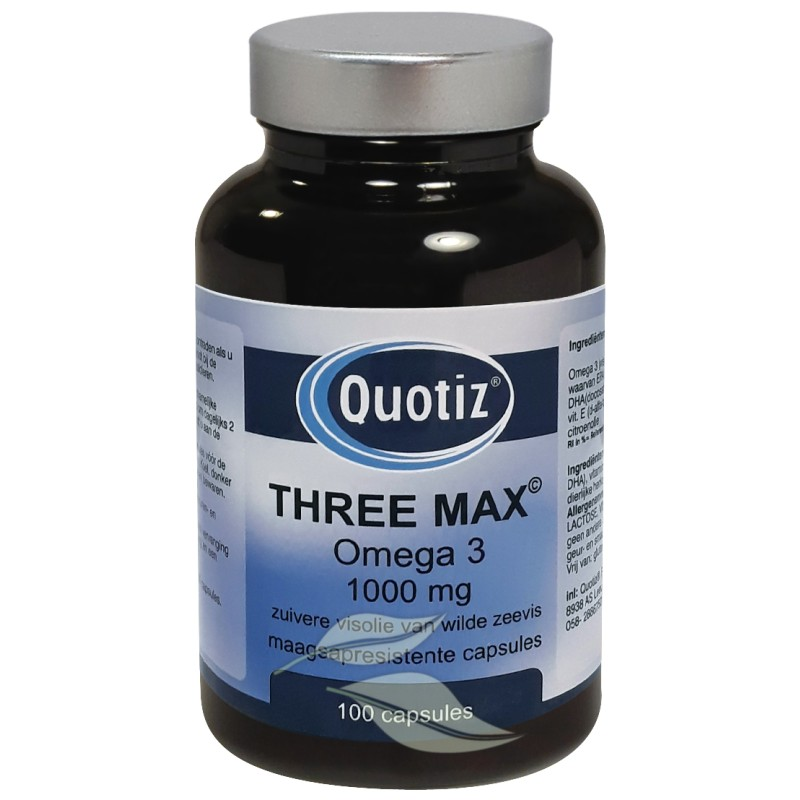 Three Max - Omega 3 Visolie