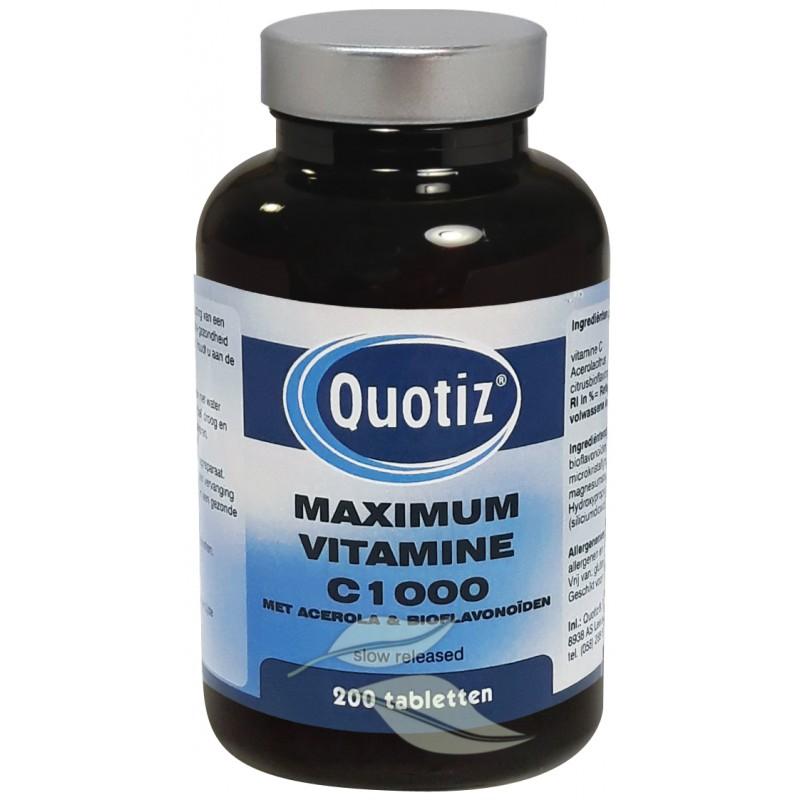 Vitamine C1000 Maximum