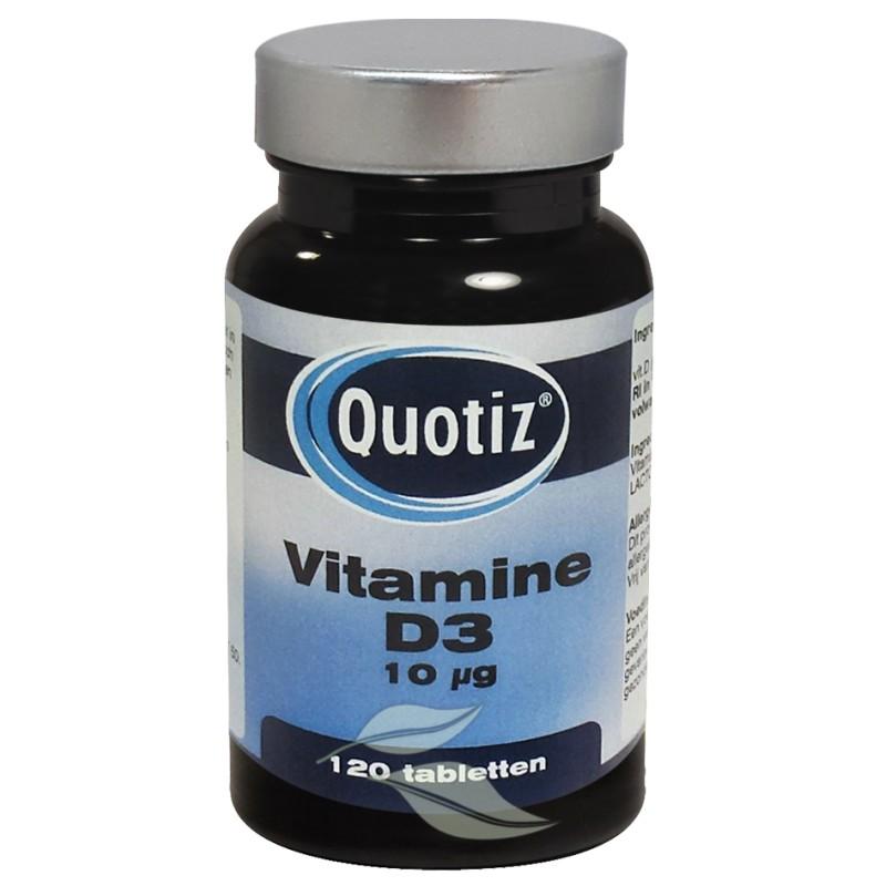 Vitamine D3, 10 mcg. (400 I.E.)