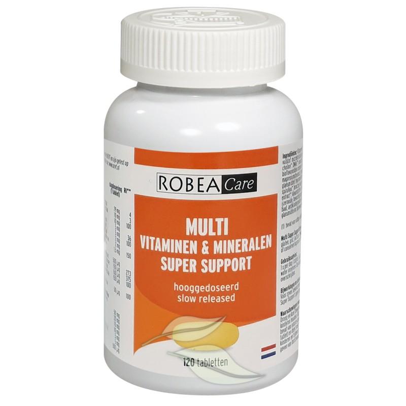 Multi Super Support - Vitaminen & Mineralen