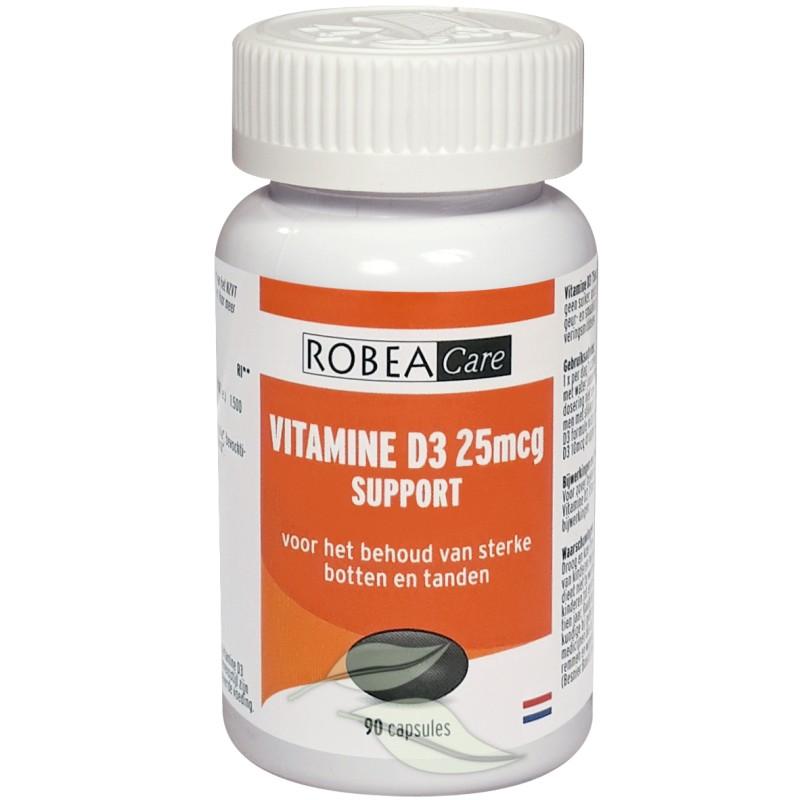 Vitamine D3 Support 25mcg - 1000 I.E.