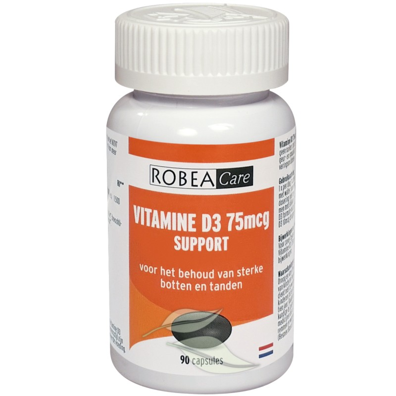 Vitamine D3 Support 75mcg - 3000 I.E.